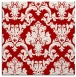 rug #514265 | square red traditional rug