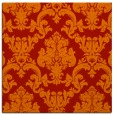 rug #514269 | square red traditional rug