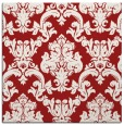 rug #514273 | square red traditional rug
