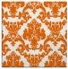 rug #514293 | square red-orange traditional rug