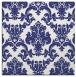 rug #514305 | square blue rug
