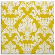 rug #514325 | square yellow rug