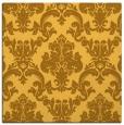 rug #514329 | square light-orange rug