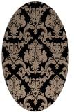 rug #514389 | oval beige traditional rug