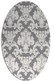 rug #514561   oval damask rug