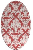 rug #514599 | oval traditional rug