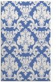 rug #514769 |  blue damask rug