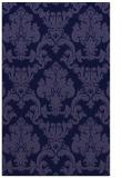 rug #514813 |  blue-violet traditional rug