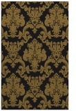 rug #514845 |  mid-brown damask rug