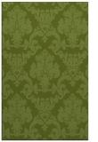 rug #514853 |  green damask rug