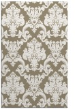 rug #514869 |  white damask rug