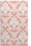 rug #514949 |  white damask rug