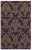 rug #514961 |  purple traditional rug
