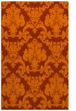 rug #514985 |  red-orange traditional rug
