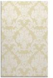 rug #515021 |  yellow rug