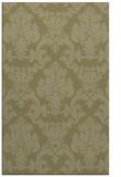 rug #515053 |  light-green traditional rug