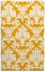 rug #515065    light-orange damask rug