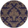 rug #515189 | round beige damask rug