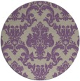 rug #515261   round beige damask rug