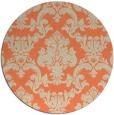 rug #515277 | round beige rug
