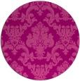 rug #515289   round pink rug