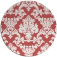 rug #515303 | round traditional rug