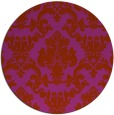 rug #515336   round damask rug