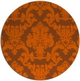 rug #515345 | round traditional rug