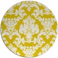 rug #515381 | round white traditional rug