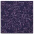 rug #515881 | square blue-violet rug