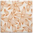 rug #516053 | square red-orange natural rug