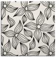 rug #516057 | square black natural rug