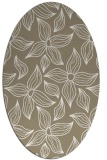 rug #516277 | oval white natural rug