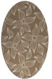 rug #516289   oval beige natural rug