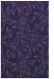 rug #516585 |  blue-violet rug