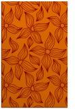 rug #516677 |  red-orange natural rug