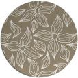 rug #516981   round white natural rug