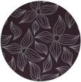 rug #517077   round purple natural rug