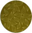 rug #517161 | round light-green natural rug