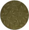 rug #517173 | round light-green natural rug