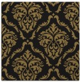 rug #517565 | square mid-brown traditional rug