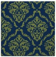 rug #517581 | square blue traditional rug