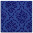 rug #517649 | square blue-violet damask rug