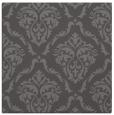 rug #517693 | square brown damask rug