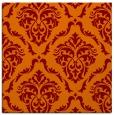 rug #517733 | square orange traditional rug