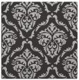 rug #517745   square orange damask rug