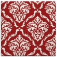 rug #517793 | square red traditional rug