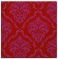 rug #517797 | square red traditional rug