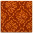 rug #517801 | square red-orange traditional rug
