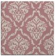 rug #517885 | square pink damask rug